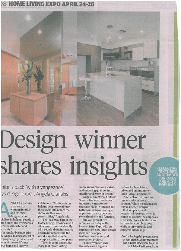 Design winner shares insights